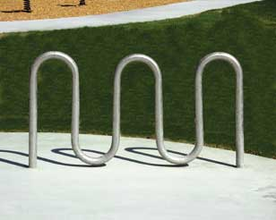 Bike Rack a rack like the one below