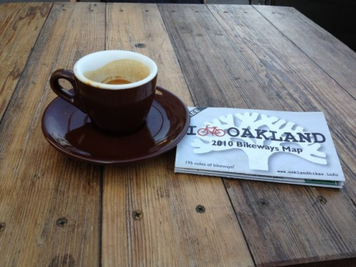 espresso and oakland bikeways map