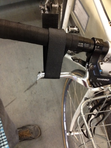 bicycle parking brake on BART
