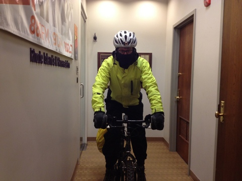 ready for the blizzard bike