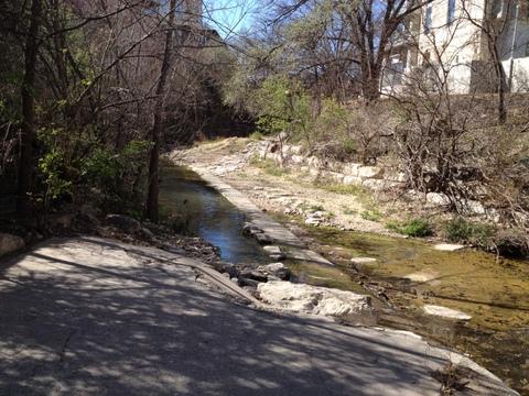 Austin Texas bike path