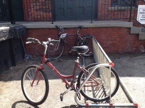 Hope Artiste Village bike rack