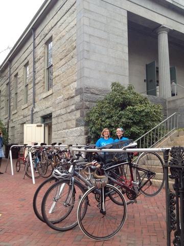 recycle-a-bike bike valet
