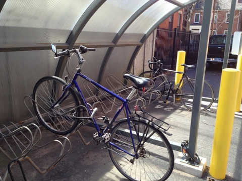 New Haven bike parking