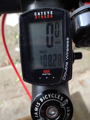 My first century plus 8.28