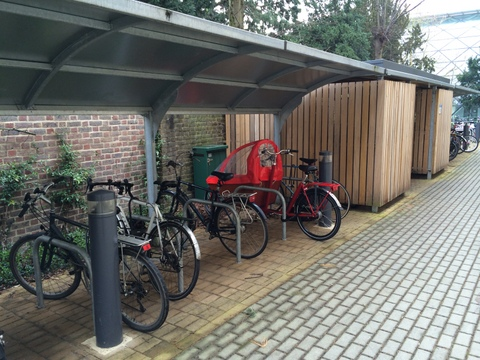 Bakfiets at Darwin College
