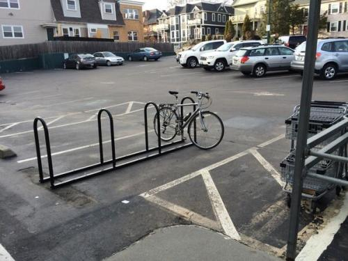 Whole Foods Waterman Providence Bike Rack