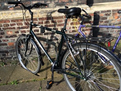bike in the slot